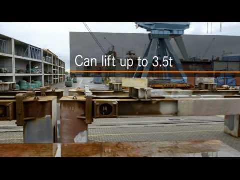 Diesel forklift truck RX 70-20/35 - Saving energy has never been easier