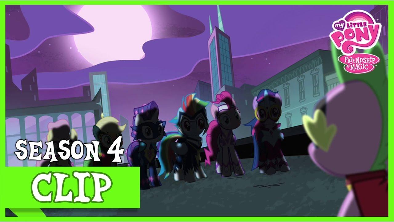 The Mane 6 As The Power Ponies Power Ponies Mlp Fim Hd Youtube