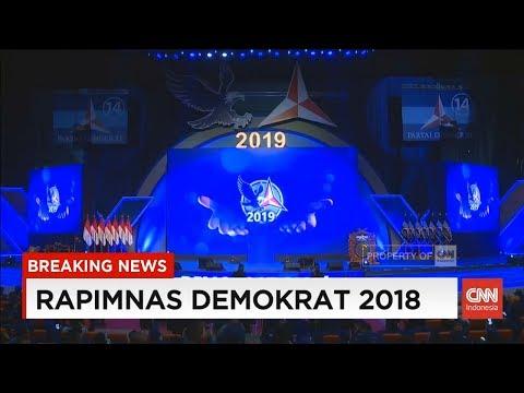 Breaking News! Rapimnas Demokrat 2018, Jokowi Turut Hadir