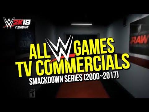 ALL TV COMMERCIALS (WWEGAMES  2000~2017)