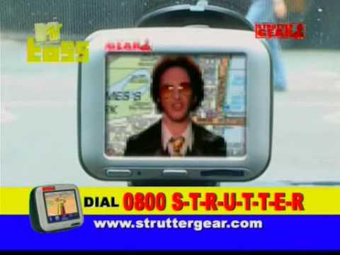 Strutter Gear - Satellite Navigation System GPS