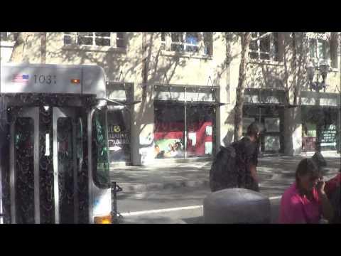 (10-24-14) [HD] VTA Light Rail Ride from Middlefield to Santa Teresa