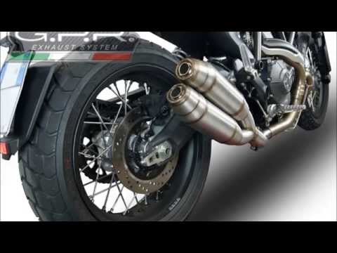 ducati scrambler gpr dual slip on exhaust system instructions doppio scarico gpr scrambler