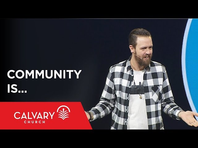 Community Is... - Acts 2:44-46 - Nate Heitzig