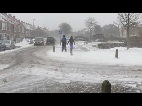 2021 sneeuwstorm in