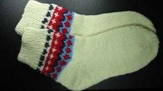 Как вязать вечные носки -  How to knit timeless socks(Как вязать вечные носки - How to crochet timeless socks Здесь подробнее http://www.knittingforbeginners.ru/kak-viazat-vechnije-noski/ *ТОВАРЫ ДЛЯ..., 2017-01-16T08:53:29.000Z)