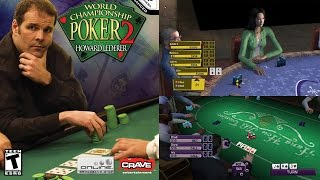 World Championship Poker 2 Featuring Howard Lederer - Gameplay PS2
