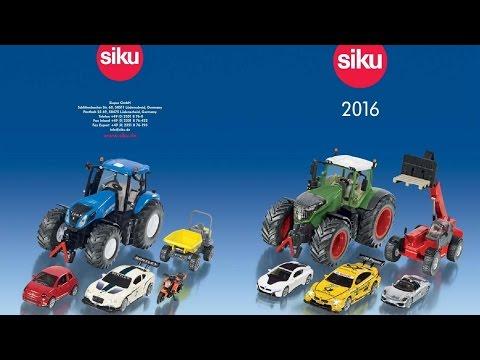 JUGUETES SIKU 2016 CATALOGO Para Niños For Kids. Tractor Cosechadora Grúa Camión Coche Excavadora