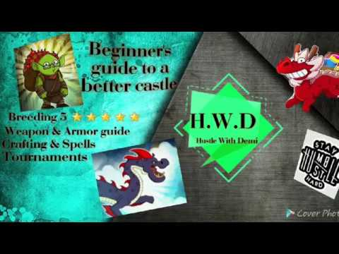Hustle Castle- Beginners Guide To A Better Castle