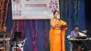 Paadana Telugu Paata Patriotic song sung by Nageswari Rupakula Venkata