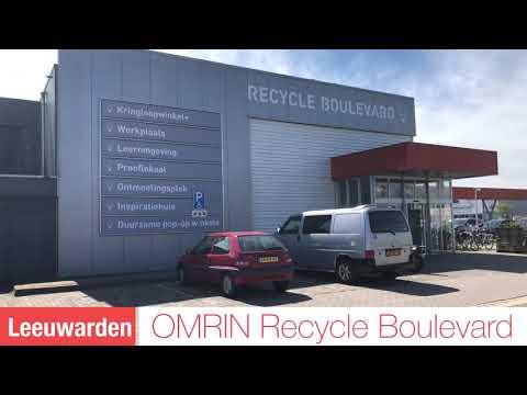 Omrin Recycle Boulevard Leeuwarden