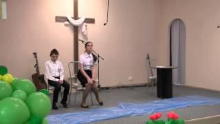 Христианский фестиваль детского творчества 25.04.2015.