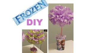 Frozen Diy Party Centerpieces