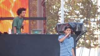 Earl Sweatshirt - Earl - Live @ Camp Flog Gnaw Odd Future Carnival 11-9-13 in HD