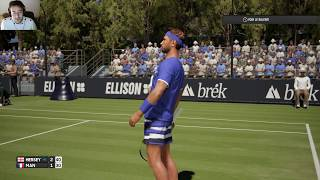 ao international tennis : Ma Carrière