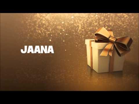 Happy Birthday Jaana Youtube