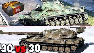 30 VS 30 - WZ-111 5A vs Object 705A - World of Tanks