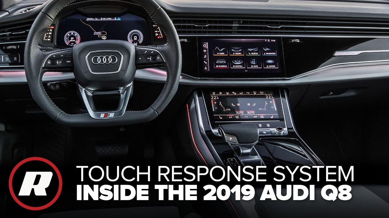 Tech Check The 2019 Audi Q8 Has The Coolest Dashboard Tech Youtube