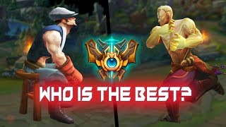 Gripex vs Heizman Lee Sin Montage - Who IS The Best (League of Legends)