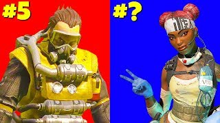 Ranking Apex Legends CHAMPIONS (Worst to Best)