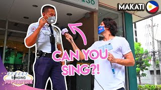 Can FILIPINOS Sing? | Makati