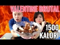 VALENTINE BRUTAL BATTLE MAKANAN MANIS VS GERRY & BLACK