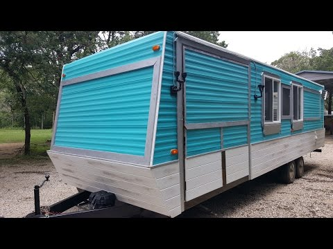 RV Conversion To Coffee Bar: THE RUSTIC BEAST TO LE MUSE COFFEE BAR