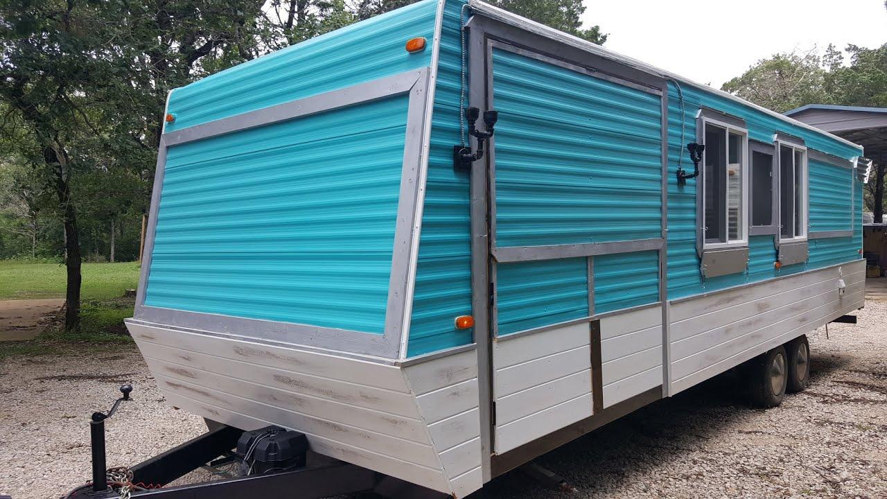 Build A Food Truck From A Caravan