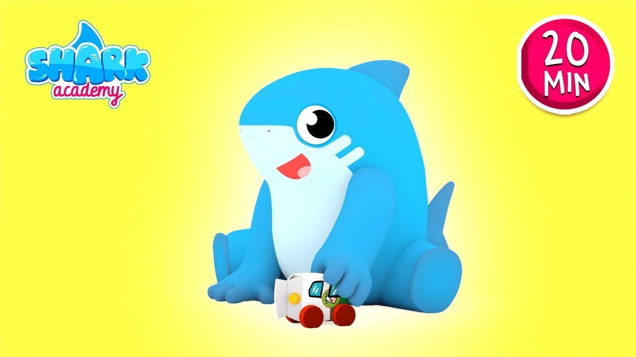 Shark Academy - Recycling - Baby Shark Nursery Rhymes for Children