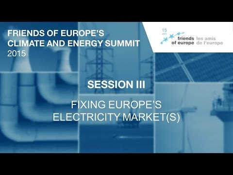 FoE Climate and Energy Summit 2015 – III. EU electricity markets