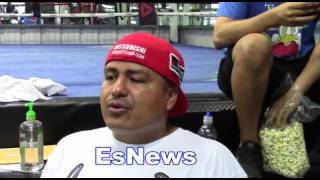 Robert Garcia Talks Pacquiao Horn What He Saw EsNews Boxing