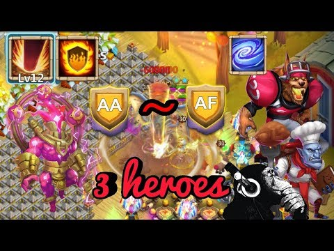 Storm Eater | Walla Walla | Anubis | Empower | HBM AA-AF | Castle Clash