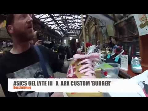 Mark passie4sneakers ASICS 'BURGER' op Approved Sneakers Market 2014
