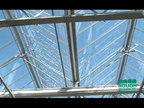 Open Roof Greenhouse Youtube