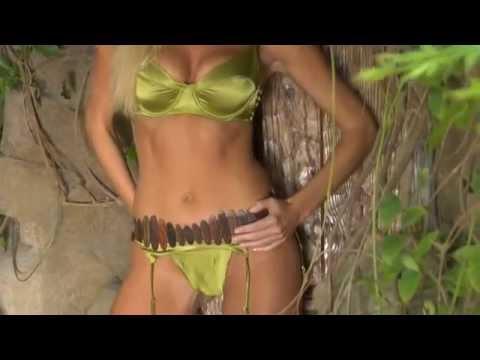 Playmate Lauren Anderson - Sexy Green Bikini Shoot! thumbnail