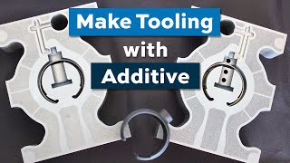 3D-printed injection mold tooling