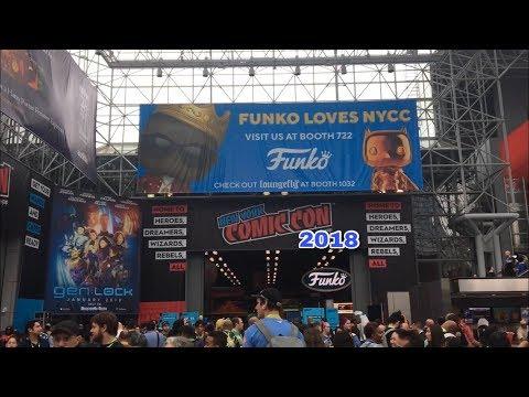 New York Comic Con 2018! Vendors,Cosplay & More!