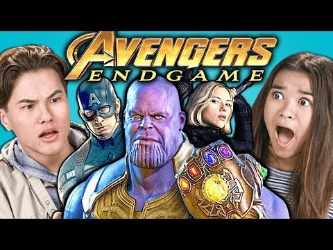 Teens React To Avengers: Endgame Trailer & Easter Eggs