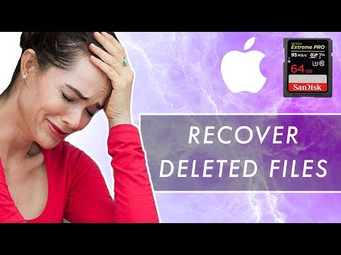 How to Recover Deleted SD Card Files for FREE | Mac