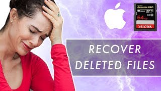 How to Recover Deleted SD Card Files for FREE | Mac (Working 2019)