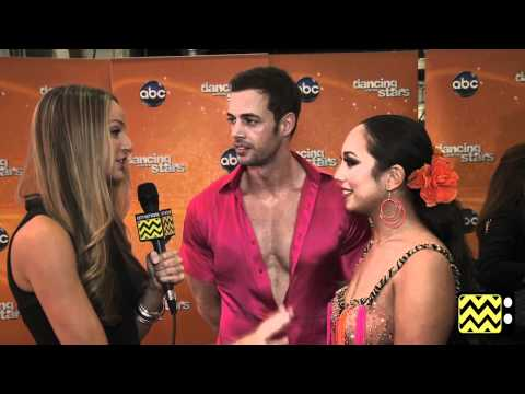 AfterBuzz TV Interviews William Levy and Cheryl Burke @ DWTS May 14th, 2012