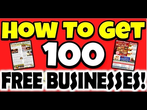 100 Free Business Start Ups - Home Based & Profitable
