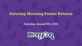 Saturday Morning Ponies Returns