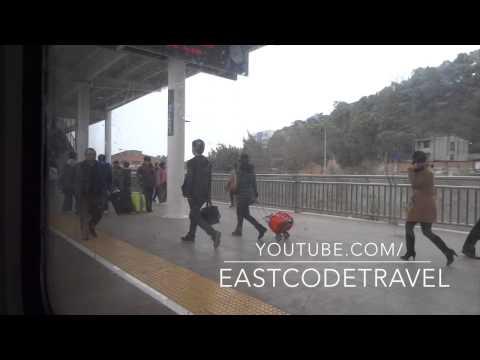 Chinese K962 train  From Chengdu to Mianyang 2014