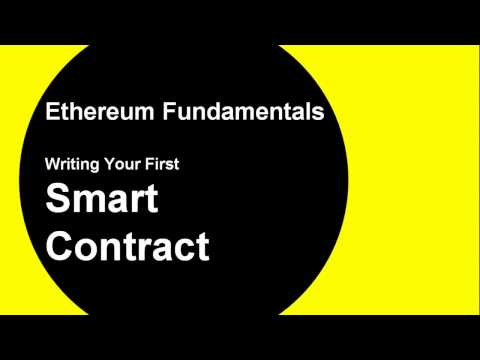 Write Your First Smart Contract In Ethereum Using Solidity