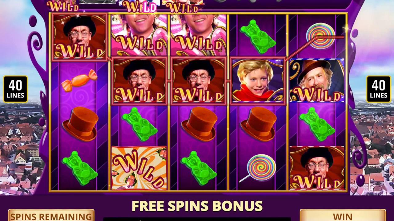 Willy wonka penny slot machine carnival cruise sunshine casino