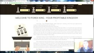 Обзор проекта Forex King