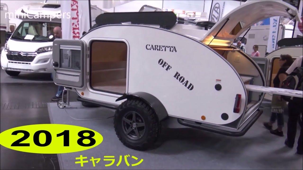 caretta teardrop mini caravan 2018 youtube. Black Bedroom Furniture Sets. Home Design Ideas