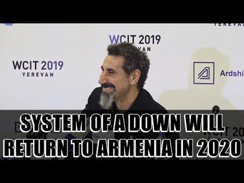 Serj Tankian Says System Of A Down Returns To Armenia In 2020 (English Subtitles)