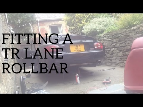 Mazda Mx5 Miata Mk2 Nb: Stop-Motion - Fitting a TR Lane Roll Bar
